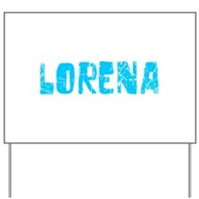 Lorena Faded (Blue) Yard Sign