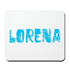 Lorena Faded (Blue) Mousepad