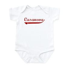 Casanova (red vintage) Onesie