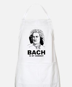 Bach Is My Homeboy BBQ Apron