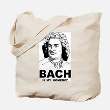 Bach Is My Homeboy Tote Bag