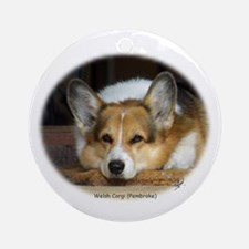Welsh Corgi (Pembroke) Ornament (Round)