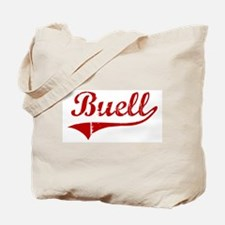 Buell (red vintage) Tote Bag