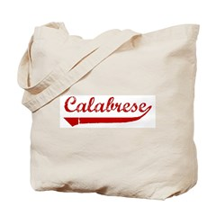 Calabrese (red vintage) Tote Bag