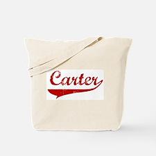 Carter (red vintage) Tote Bag