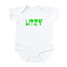 Litzy Faded (Green) Infant Bodysuit