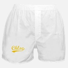 Vintage Chloe (Orange) Boxer Shorts