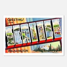 Seattle Washington Greetings Postcards (Package of