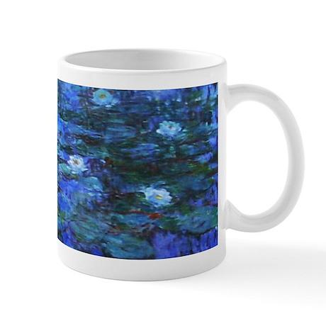 Mug - Monet Nympheas Bleus