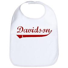 Davidson (red vintage) Bib