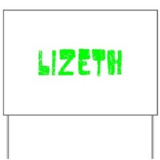 Lizeth Faded (Green) Yard Sign