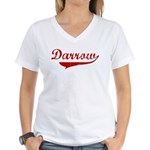 Darrow (red vintage) Women's V-Neck T-Shirt