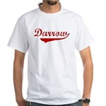 Darrow (red vintage) White T-Shirt