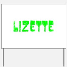 Lizette Faded (Green) Yard Sign