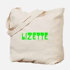 Lizette Faded (Green) Tote Bag