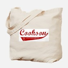 Cookson (red vintage) Tote Bag