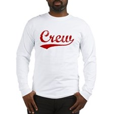Crew (red vintage) Long Sleeve T-Shirt