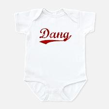 Dang (red vintage) Infant Bodysuit