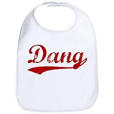 Dang (red vintage) Bib