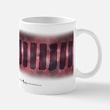 Strokes + Scope in Crimson Mug