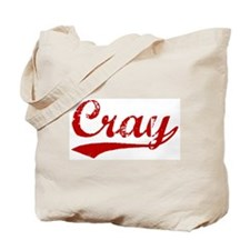 Cray (red vintage) Tote Bag