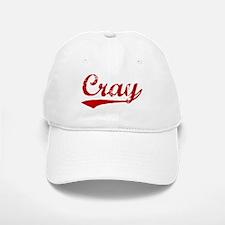 Cray (red vintage) Baseball Baseball Cap