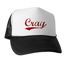 Cray (red vintage) Trucker Hat