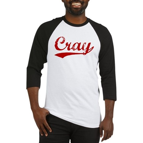 Cray (red vintage) Baseball Jersey