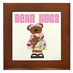 Bear Hugs Framed Tile