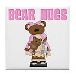 Bear Hugs Tile Coaster