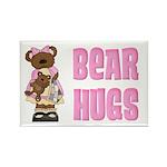 Bear Hugs Rectangle Magnet (100 pack)