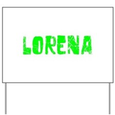 Lorena Faded (Green) Yard Sign