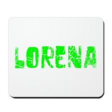 Lorena Faded (Green) Mousepad