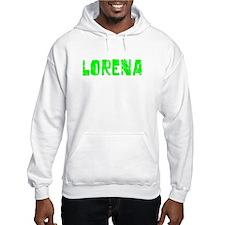 Lorena Faded (Green) Hoodie
