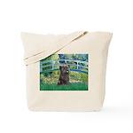 Bridge /Cairn Terrier (w) Tote Bag