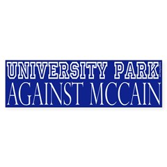 University Park Against McCain