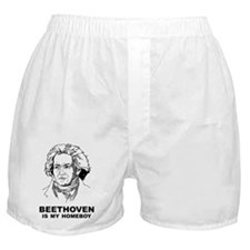 Beethoven Is My Homeboy Boxer Shorts