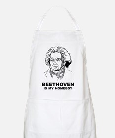 Beethoven Is My Homeboy BBQ Apron
