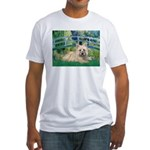 Bridge /Cairn Terrier (w) Fitted T-Shirt