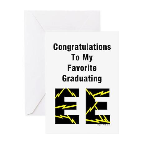 Electrical Engineer Graduate (Blank) Greeting Card
