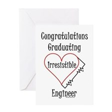 Electrical Engineer Graduate (Blank) Greeting Card