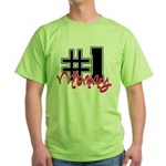 #1 Mommy Green T-Shirt