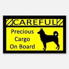 Precious Cargo Canaan Dog Sticker (Rect)