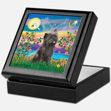 Guardian / Cairn Terrier (brin) Keepsake Box