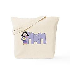 #1 Mom (2) Tote Bag