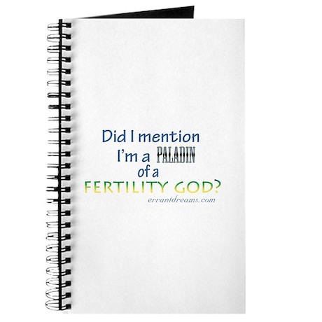 Fertility God Paladin Journal