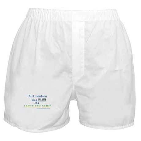 Fertility God Paladin Boxer Shorts