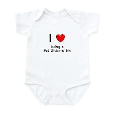 Pet Sitter Infant Bodysuit
