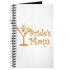 Orange C Martini Bride's Mom Journal