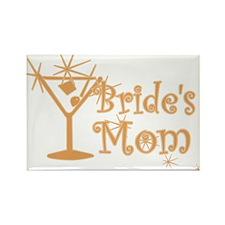 Orange C Martini Bride's Mom Rectangle Magnet